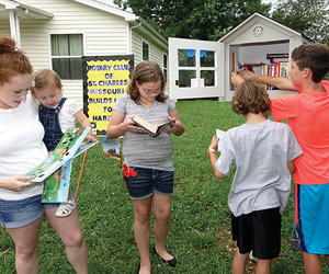 Habitat for Humanity and Little Free Libraries Partner