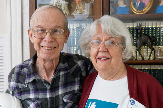 The Dynamic Duo - Bob and Evelyn Mertens