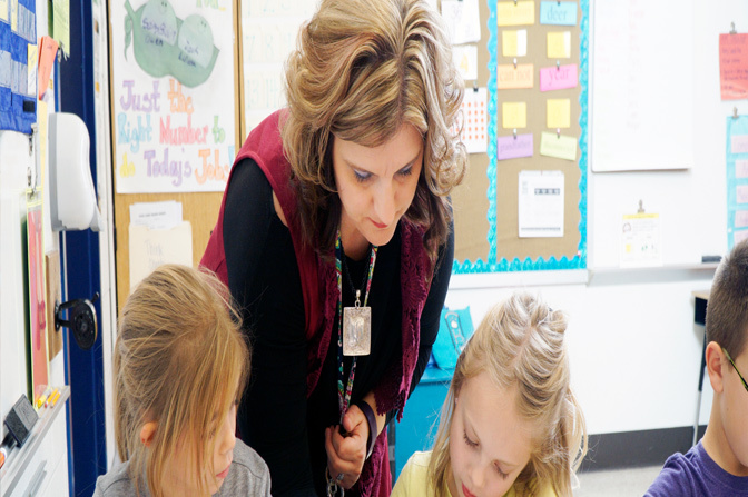 Mrs. Lann is a National Teaching Award Nominee